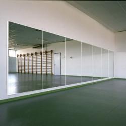 specchio anti infortunistico da palestra