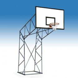 impianto basket a traliccio per esterno, zincato