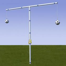 Forca per allenamento gioco di testa, compresi 2 palloni