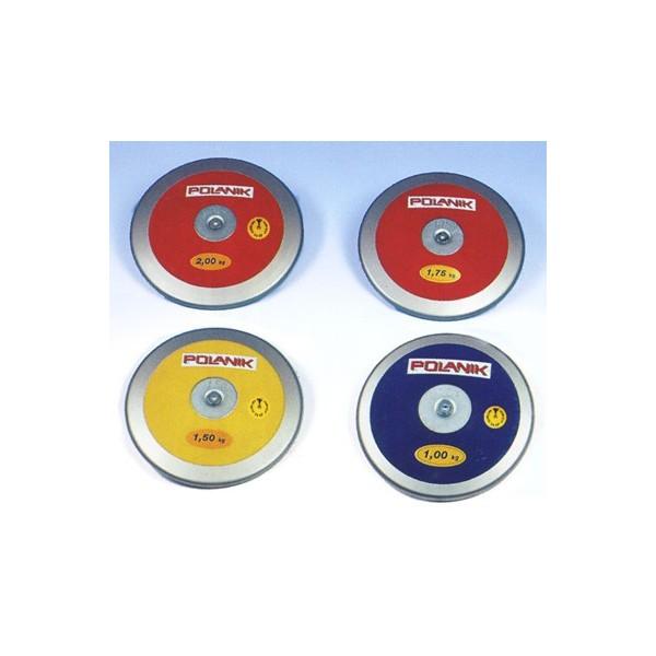 Disco da lancio kg 1,75 certificato IAAF