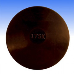 Disco da lancio in gomma 2 kg.