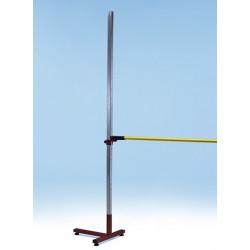 Coppia ritti salto in alto con base a T, 220 cm.