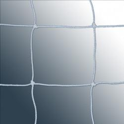 Coppia reti calcio a 5 in polietilene 3 mm. con nodo