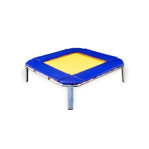 trampolino fisso con imbottiture