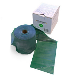 Rotolo mt 45 banda elastica Thera-Band colore verde, media