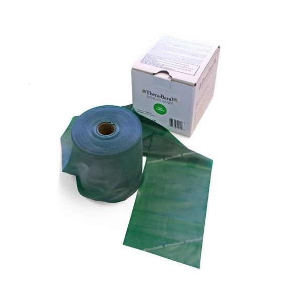 Rotolo mt 45 banda elastica Thera-Band colore verde, media
