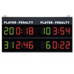 Modulo per visualizzazione 2+2 tempi di penalità, serie M