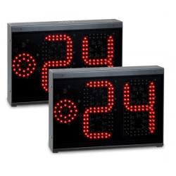 Coppia indicatori 24 secondi con fine tempo