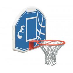 Tabellone basket in plastica con canestro
