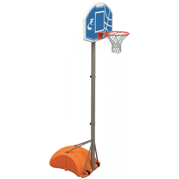 canestro basket mobile con base riempibile