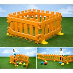 Recinzione aree gioco interno/esterno cm. 440x5x60H