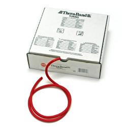 Elastico tubolare Thera-Band colore ROSSO, servizio di taglio su misura, prezzo al metro