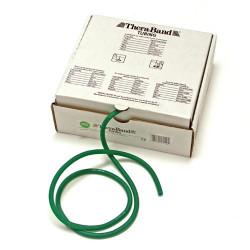 Elastico tubolare Thera-Band colore VERDE, servizio di taglio su misura, prezzo al metro