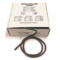 Elastico tubolare Thera-Band colore NERO, servizio di taglio su misura, prezzo al metro