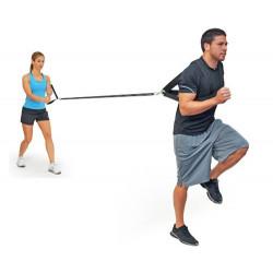 Resistance Trainer, cinghia da 305 cm. con imbragatura pettorale e maniglia grande