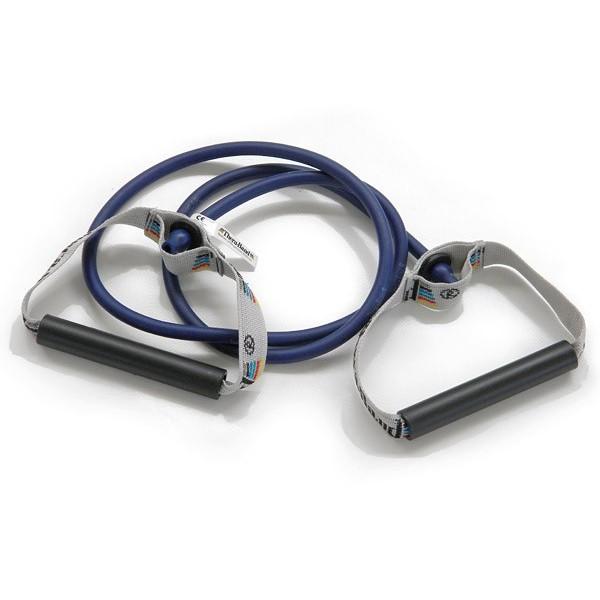 Elastico con maniglie Body Trainer Thera-Band cm. 140 BLU