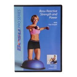 DVD su sviluppo di forza reattiva e potenza con il Bosu