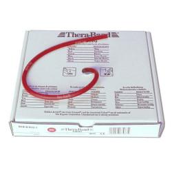 Rotolo elastico tubolare rosso Thera-Band da 7 metri, medio