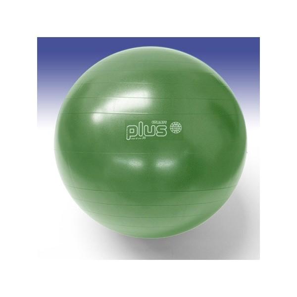 Palla Gymnic Plus cm. 75 verde