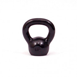 Kettlebell kg. 4 in ghisa con base in gomma