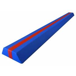 Trave propedeutica per ginnastica artistica, lunghezza 250 cm.