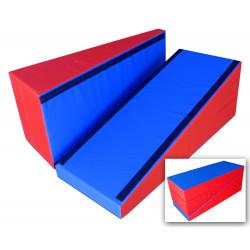 Plinto a base rettangolare cm. 150x60x60 divisibile in 2 con giunzione a velcro