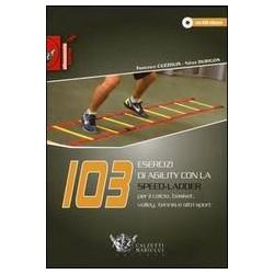 Libro+DVD 103 esercizi di agility con la Speed-Ladder