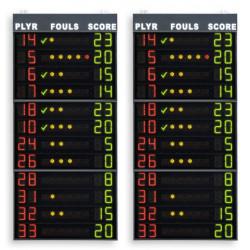 Coppia pannelli per falli (+punti) giocatori