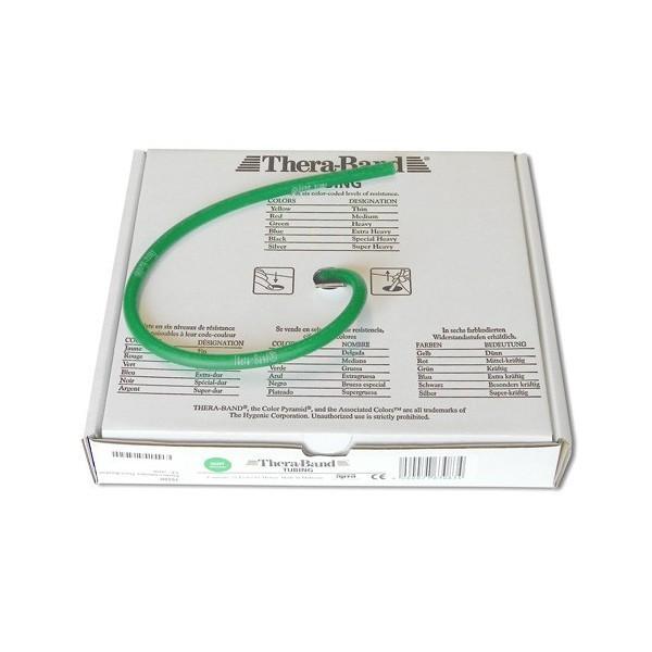 Rotolo elastico tubolare Thera-Band mt. 7,5 col. Verde