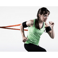 Shoulder Surge Stroops, coppia di elastici 140 cm. con bracciali/gambali e fascia di aggancio