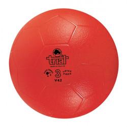 Pallone calcio in gomma sintetica Trial V42, misura 3