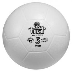 Pallone calcio in gomma sintetica Trial V41, misura 4