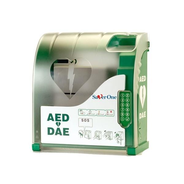 Cabinet AIVIA per defibrillatore Saver One