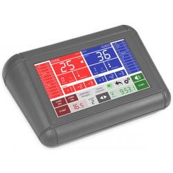 Tabellone elettronico segnapunti norme FIBA mod. MXL-F - COMPRESA CONSOLLE di comando