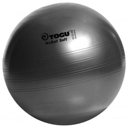 Palla ginnica Togu MyBall Soft colore nero, diam. 55/65/75