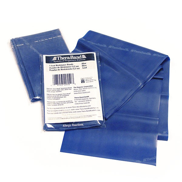 Banda elastica Thera-Band cm. 150 col. blu, forte