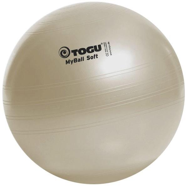 Palla ginnica Togu MyBall Soft color perla, diam. 55/65/75