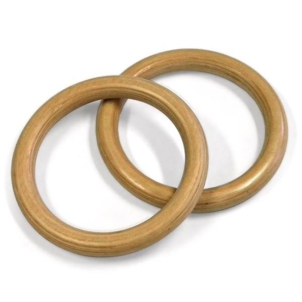 Coppia di anelli in legno lamellare misure regolamentari