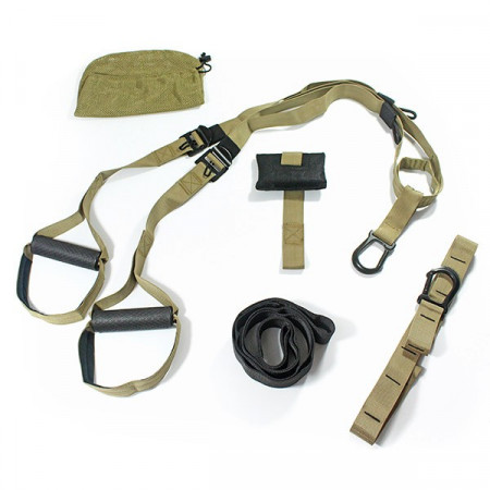 Set per Suspension Training T3 professionale, con borsa e door anchor