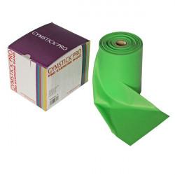 Rotolo 46 mt. banda elastica leggera Gymstick verde, ipoallergenica