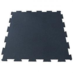 Pavimentazione antitrauma in gomma modulare, spessore 10 mm.