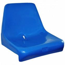 Sedile per tribuna, con schienale alto, ignifugo