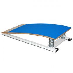 Pedana elastica con molle, piano in moquette