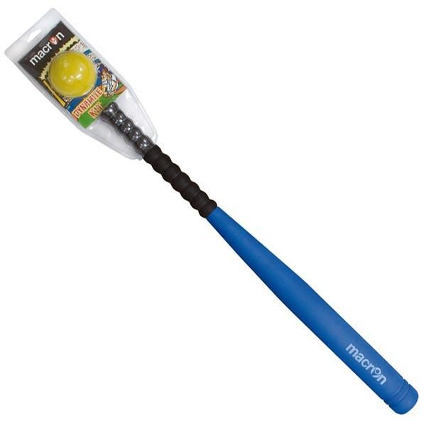 Kit mazza + palla baseball per uso indoor