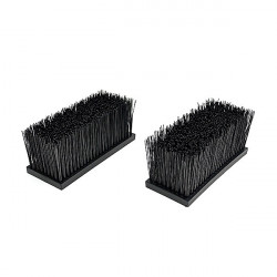 Kit di 2 spazzole grandi per lavascarpe