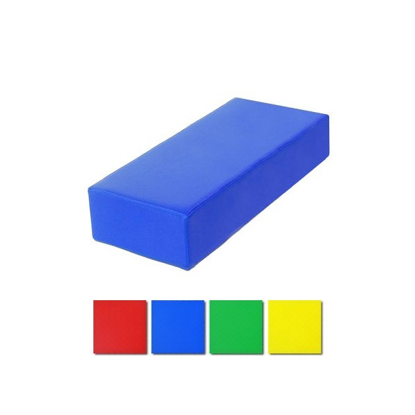 Parallelepipedo imbottito per psicomotricità cm 20x40x80
