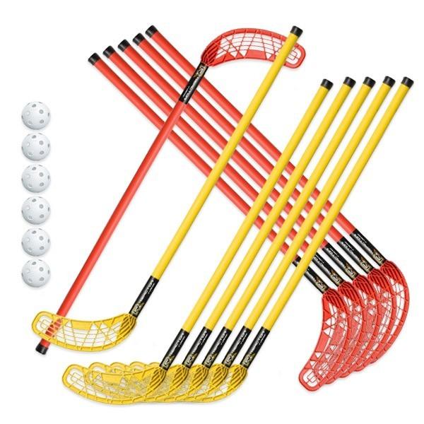 Set 6+6 stick Original per Unihoc e 6 palle