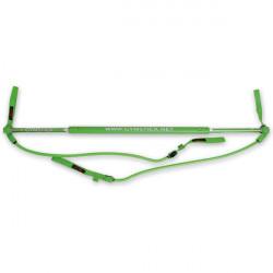 Barra TELESCOPICA Gymstick original verde