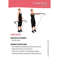 Fitdeck con 36 card utilizzo Gymstick - OUTLET