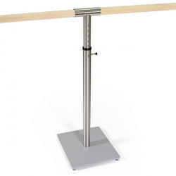 Supporto mobile per barra danza, regolabile in altezza
